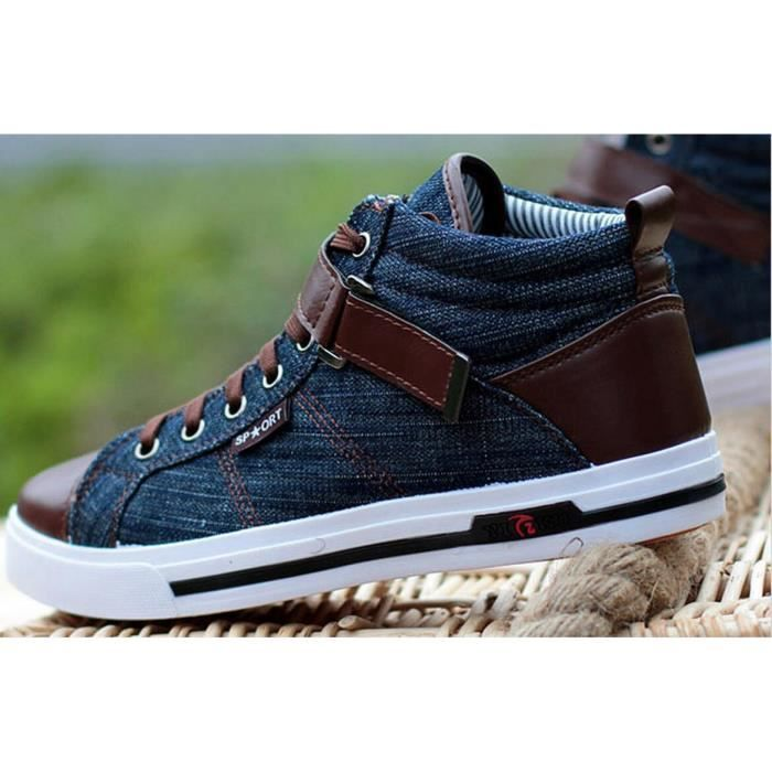 Korean Fashion Style Sneakers britannique Homme...
