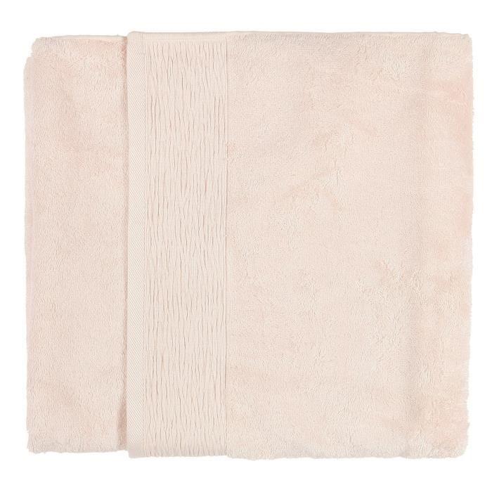 FINLANDEK Drap de Bain - 70x140 cm - Raphia Rose Pâle