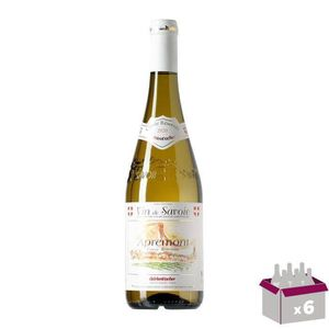 VIN BLANC Appremont Vin de Savoie - Blanc - 75 cl x6