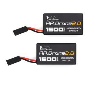 DRONE 2 Pcs de mise à niveau de la batterie de remplacem