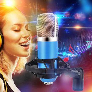 HAUT-PARLEUR - MICRO Condenseur Pro Audio BM700 Microphone Sound Studio