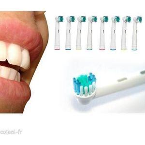 BROSSE A DENTS ÉLEC 12 brossettes Precision Clean Oral B Générique