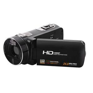 CAMÉSCOPE NUMÉRIQUE Caméscope Full HD 1080P 24MP Photos écran tactile