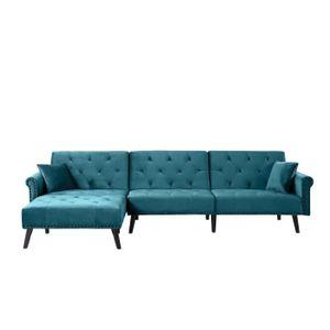 MÉRIDIENNE VALENTINE - Canapé d'angle 4 places - Design capit