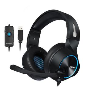 CASQUE AVEC MICROPHONE N11 Casque Gaming Micro PC Casque Gamer USB 7.1 St