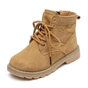 Populaire Hiver boots Enfants Pour Garçon Fille Martin Boots Gommage HZ-214noir28 XMwUtpce