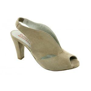 ESCARPIN Valencia - chaussures femme escarpins bout ouvert