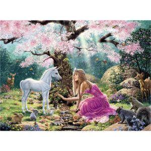 PUZZLE Puzzle 500 pièces : Une rencontre dans la forêt en