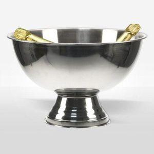 Coupe à Champagne Vasque à Champagne Classique Inox - Pour 4 bouteil