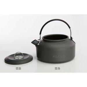VAISSELLE CAMPING Outdoor Camping Teapot Bouilloire Pot Café;