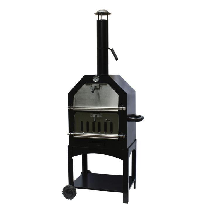 Barbecue four bois pour pizza achat vente barbecue barbecue four bois pour p cdiscount - Construire un four a pizza en plein air ...