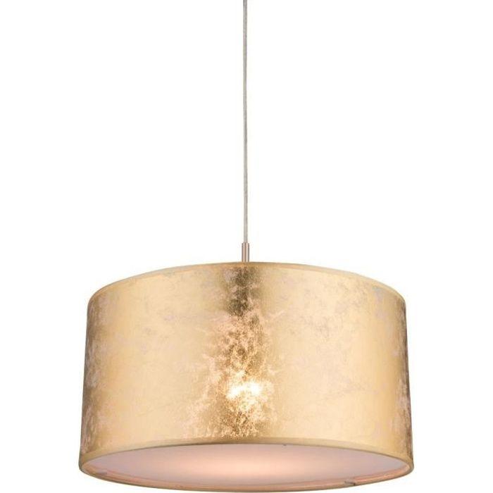 Luminaire suspension tissu achat vente luminaire for Suspension luminaire sejour