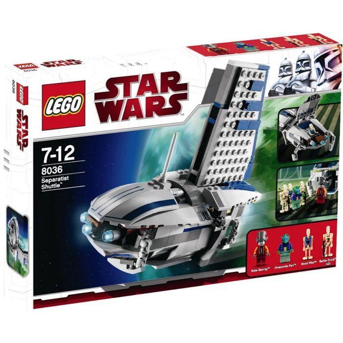 assemblage construction lego vaisseau sparatiste lego star wars - Lego Star Wars Vaisseau Clone