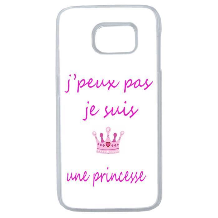 coque samsung s7 princesse