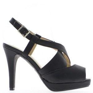 Sandales femme noires bouts ouve…