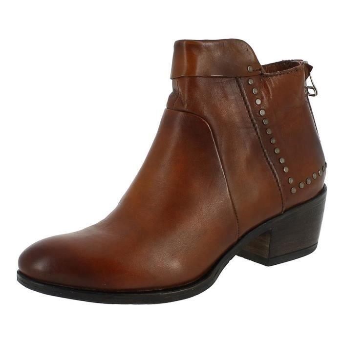 aa959cec511 Bottines   low boots 284202 femme mjus 284202 Cuoio - Achat   Vente ...