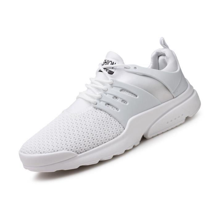 Sneakers Homme Meilleure Qualité Durable Chaussures De Marque De Luxe Sneaker Nouvelle Arrivee Grande Taille 39-44 3G8yZ1