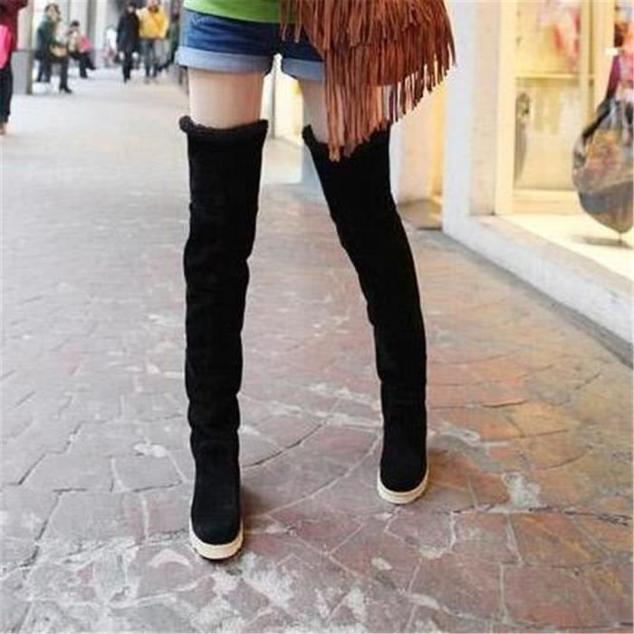 Botte Talons Elégant Plus De Couleur Classique Femme Bottine Haut qualité Nouvelle Chaussure Mode Rétro Simple Confortable 35-41