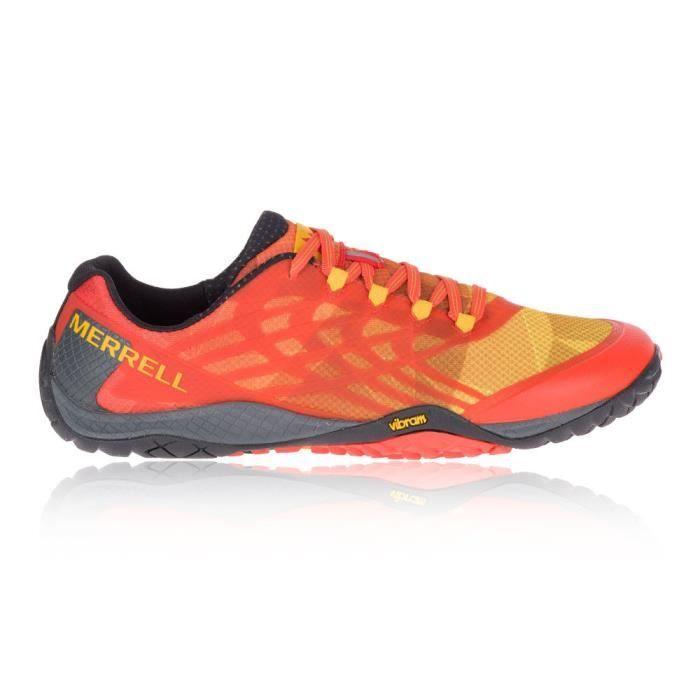 4 Chaussures De Trail Sport À Hommes Merrell Glove Pied Course b76fyg