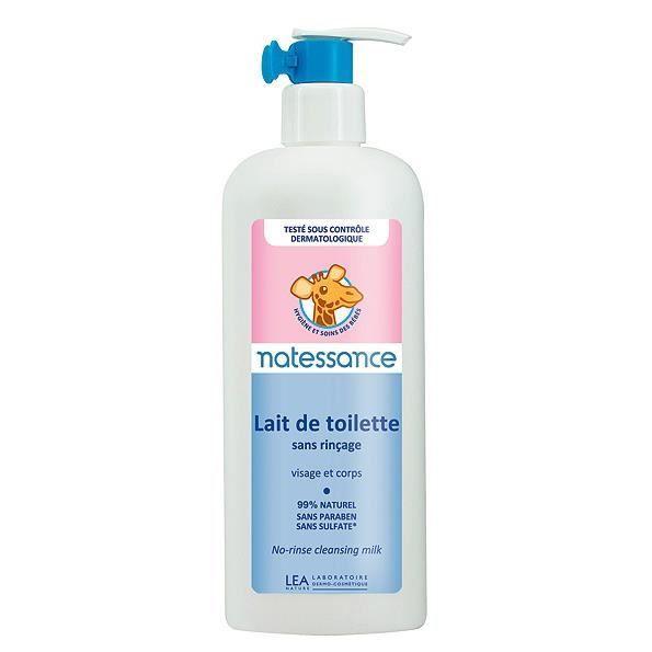 808d3d55a5b4f NATESSANCE BEBE Lait de toilette sans rinçage - 400 ml - Achat ...