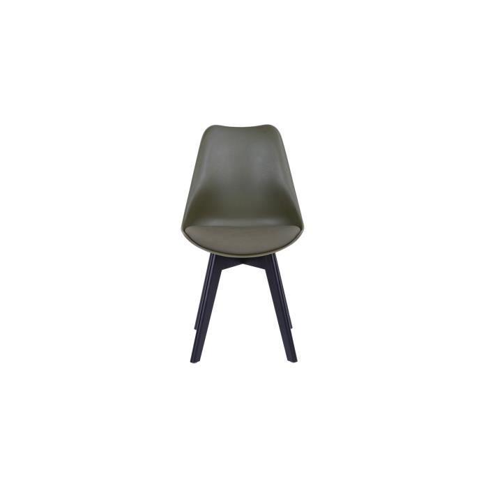 Chaises en plastique vert achat vente chaises en for Ou trouver des chaises