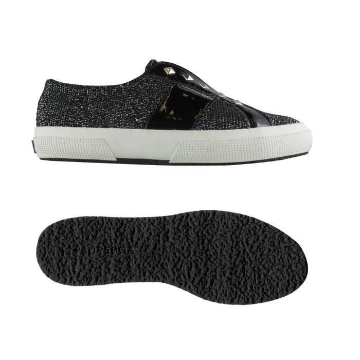 Chaussures 2750-SLIPONCOTLAMEVARNW pour femme, style classique, couleur unie