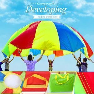 MAISONNETTE EXTÉRIEURE Jouet Parachute Parapluie Arc-en-ciel 6 pieds Shin