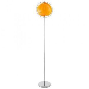 LAMPADAIRE Lampe sur pied design BARBICAN BIG en acier chromé