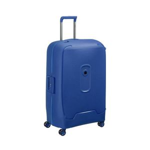 VALISE - BAGAGE Grande Valise bleu 4 roues doubles 76 cm -collecti