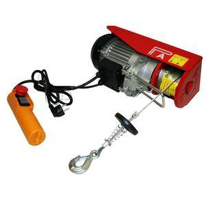 TREUIL - PALAN Treuil palan électrique 220V 250 / 500KG 1020W ave