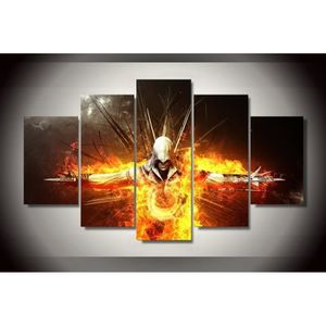 AFFICHE - POSTER Unframed 5pcs/set Printed Assassins Creed Game Pai