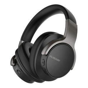 CASQUE AVEC MICROPHONE Casque Bluetooth Réduction Bruit Active Ausdom ANC