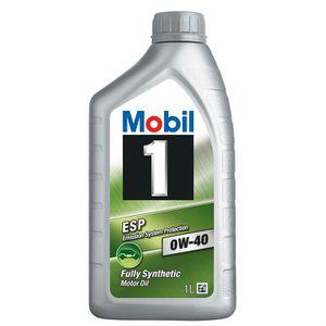 HUILE MOTEUR Mobil 1 0W40 ESP Formula 1L