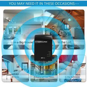 REPETEUR DE SIGNAL 750Mbps Wifi Répéteur Routeur Bi-bande WAVLINK Ant