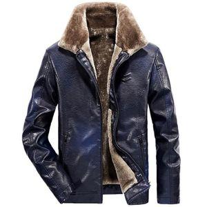 Manteau homme cuir - Achat   Vente Manteau homme cuir pas cher ... 2c51ba0b1e6