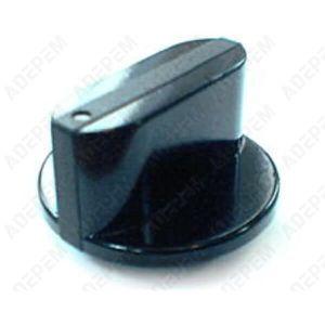 PLAQUE GAZ Bouton noir 12h gaz pour Table de cuisson Sauter -