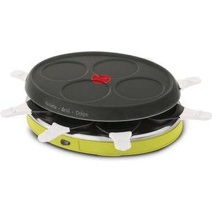 tefal re138o12 appareil raclette colormania 8 personnes vert achat vente appareil. Black Bedroom Furniture Sets. Home Design Ideas