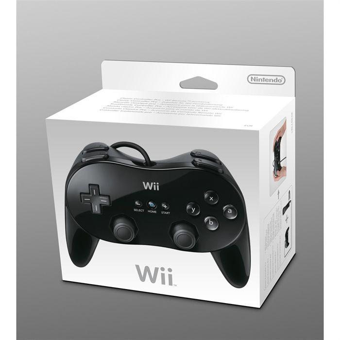 MANETTE CONSOLE Manette Officielle Classique Pro Wii