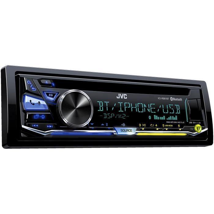 JVC Autoradio KD-R981BT CD AUX USB iPod iPhone Bluetooth 4 x 50 W