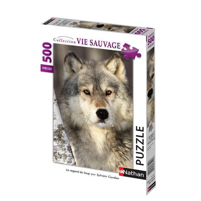 Puzzle 500 pcs Le Regard Du Loup