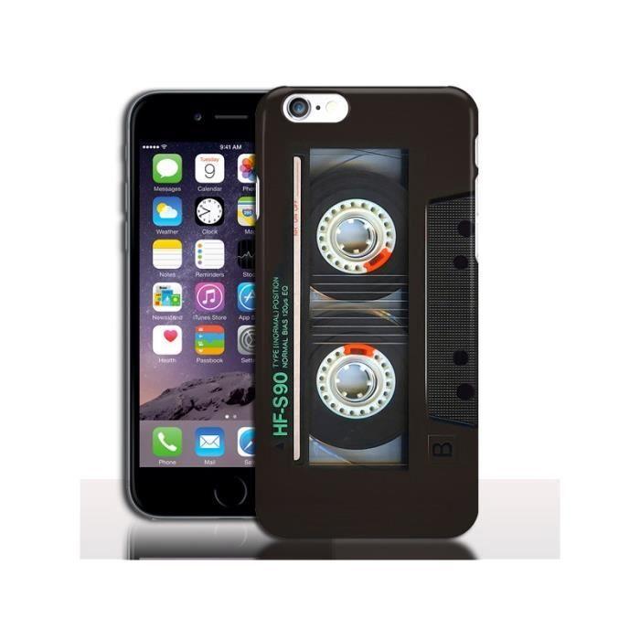 coque iphone 7 cassette
