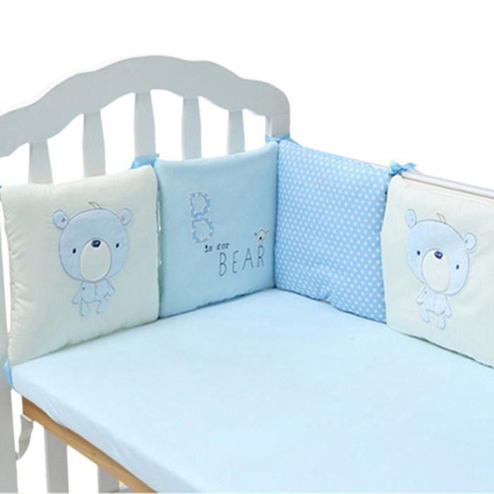 Jiyaru tour de lit bebe protection - Achat / Vente pas cher