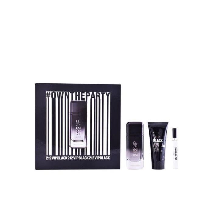 Vip Pcs De Carolina Parfum Homme Herrera3 Set Black 212 FK31cTlJ