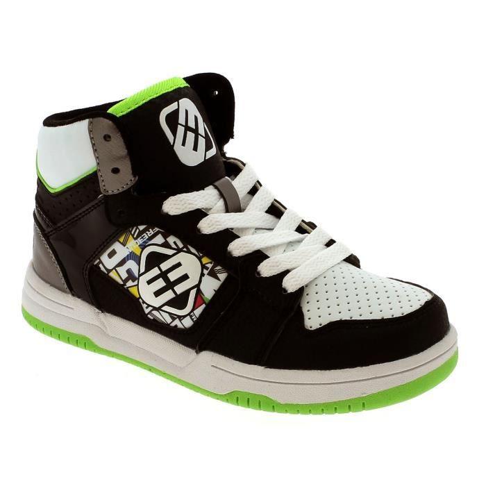 Baskets montantes pour enfant DC Rebound Special Edition Noir-Vert-Blanc cvTZ0G