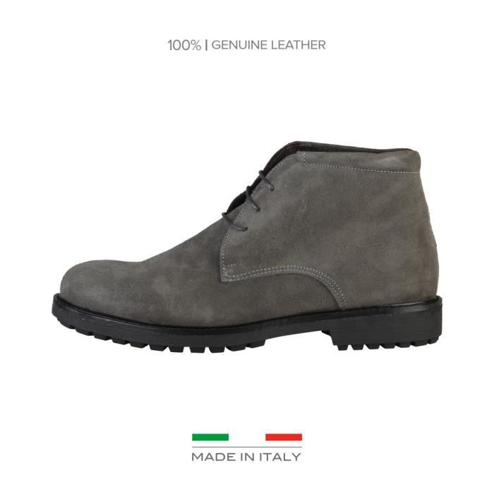 Made in Italia - Chaussures pour homme (SIMONE_GRIGIO) - Gris