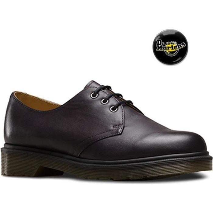 Chaussures Doc Martens 1461 Temperley Charcoal black femme 21153005 s36PX8