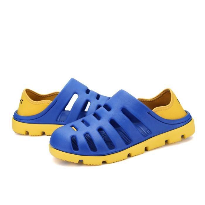 Korean Mode Chaussures de plage antidérapants hommes sXFrZ1FVhW
