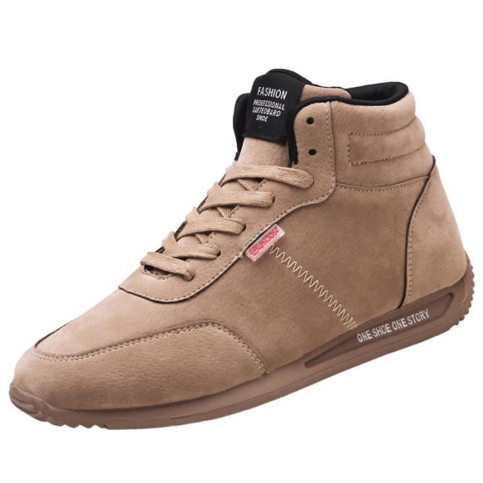 Basket chaussures montantes Mode Chaussure Homme Basket Homme Skate Shoes