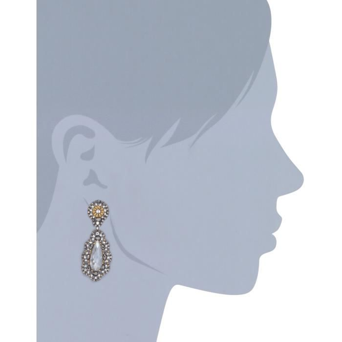 Miguel Ases Pyrite Bead 14k Gold-filled Embroidered Drop Earrings L3KAV