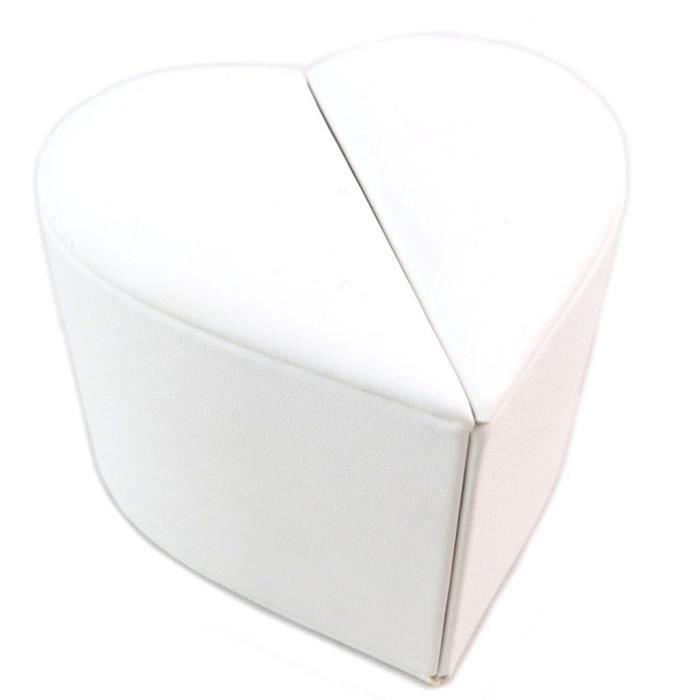 Ecrin Bague Veux-tu mépouser ? blanc - 85x85x60 cm [P6542]